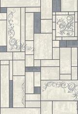 Тапет Винил за баня и кухня Палитра 510-14 сив.керамика