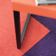 Bolero carpet tile, purple (895)