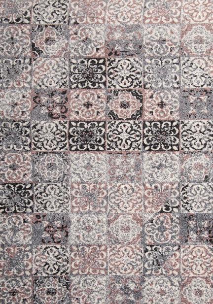 Килим Fika, розов (78586/silver/pink)