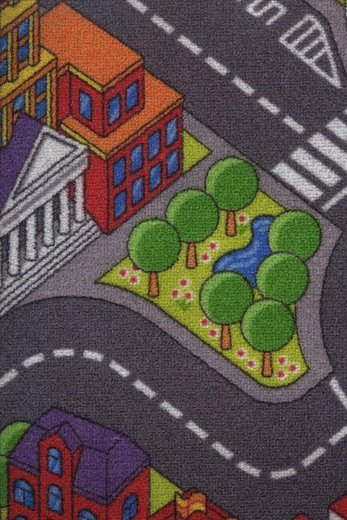 Мокет Big city, многоцветен (97)