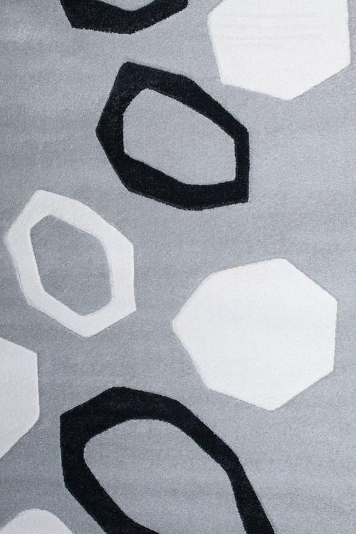 Килим Shuffle, сив (58213/372)