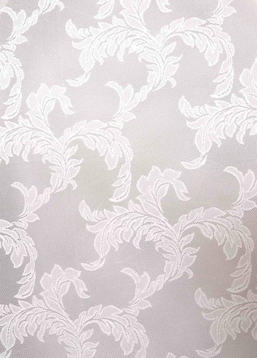 Перде ZT 843691/1071, бяло / 280 см.
