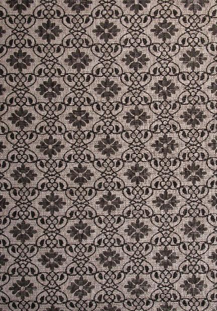 Килим Floorlux, сив (20593/silver/black)