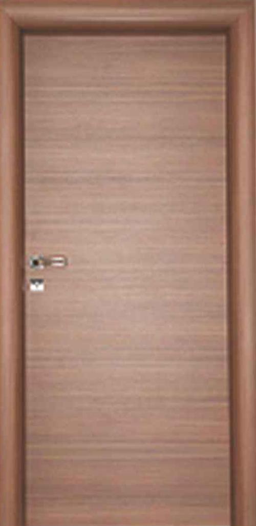 Интериорна врата орех с регулируема каса 70 см. дясна