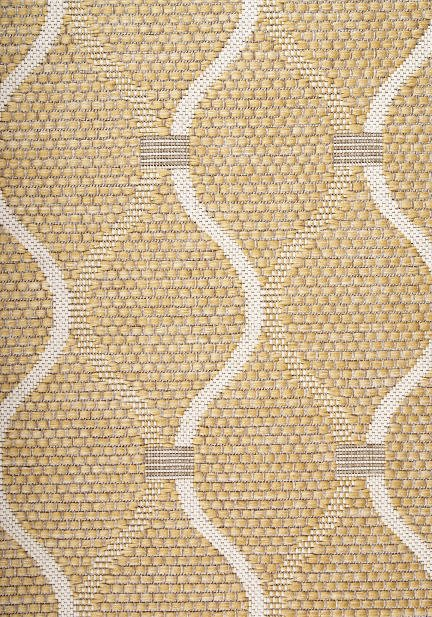 Килим Terazza, жълт (21110/ivory silver/go)