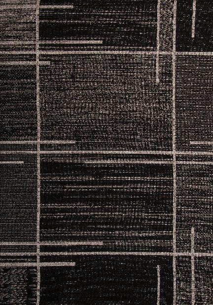 Килим Floorlux, черен (20516/black/silver)