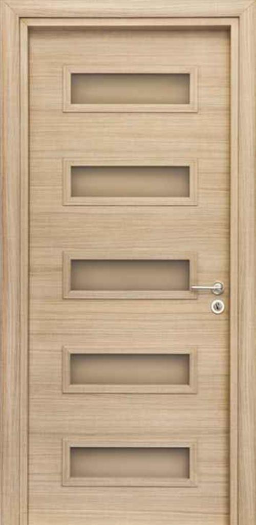 Интериорна врата VD10 с регулируема каса 70 см. лява