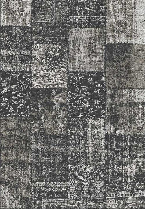 Килим Isphahan, сив (84274/anthracite)