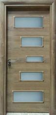 Интериорна врата VD9 с регулируема каса 70 см. дясна