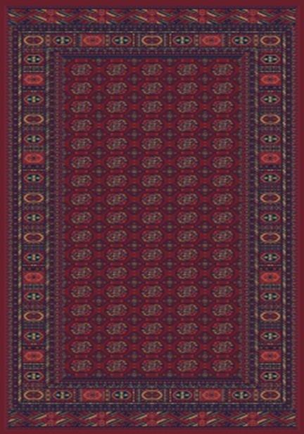 Килим Solid, червен (15CCC)