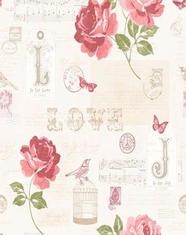Тапет Е81710/133502 черв.цветя