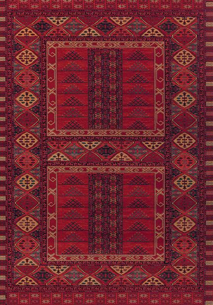 Килим Kashqai, червен (4346/300)