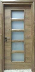 Интериорна врата VD5 с регулируема каса 70 см. дясна