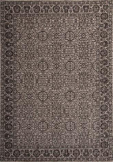 Килим Floorlux, сив (20595/silver/black)