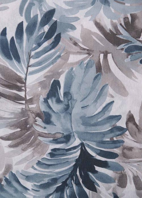 Перде LONETA JUNGLA Azur, синьо / 280 см.