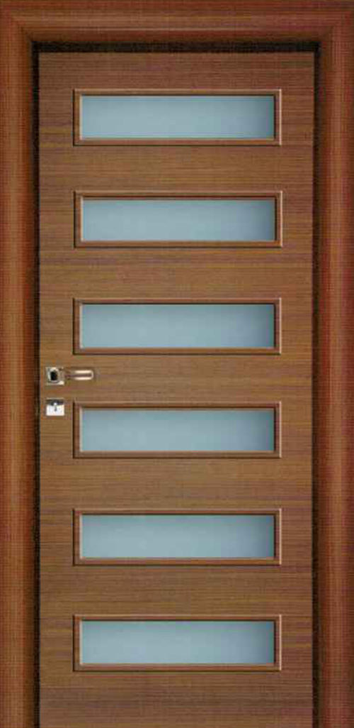 Интериорна врата VD11 с регулируема каса 80 см. дясна