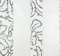 Тапет Черно-бяло райе 55411