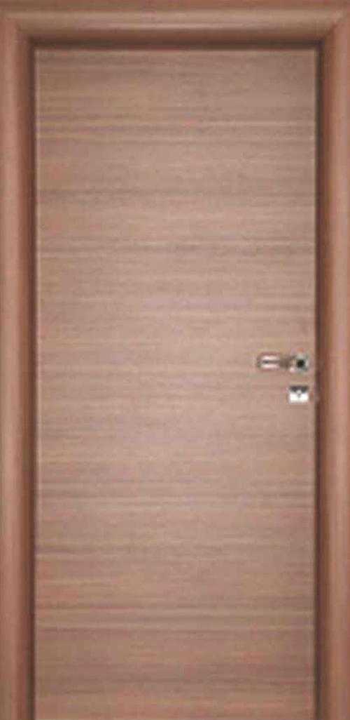 Интериорна врата орех с регулируема каса 80 см. лява