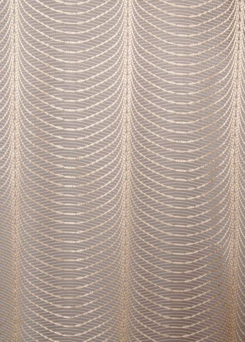 Перде DV Ribbon 5124/11300, кремаво / 280 см.