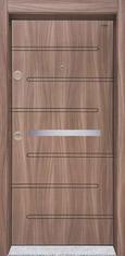 Входна врата Starlife SL205 90 см. дясна - Танганика