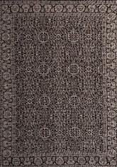 Килим Floorlux, черен (20595/black/silver)