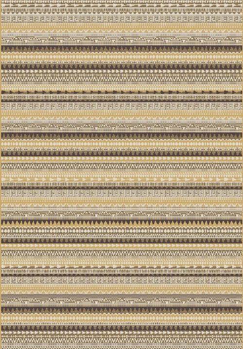 Килим Cosi, бежов (78415/ivory/gold/d.brown)