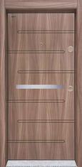 Входна врата Starlife SL205 90 см. лява - Танганика