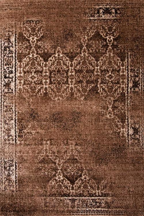 Килим Shire, кафяв (0425A/lbrown-brown)