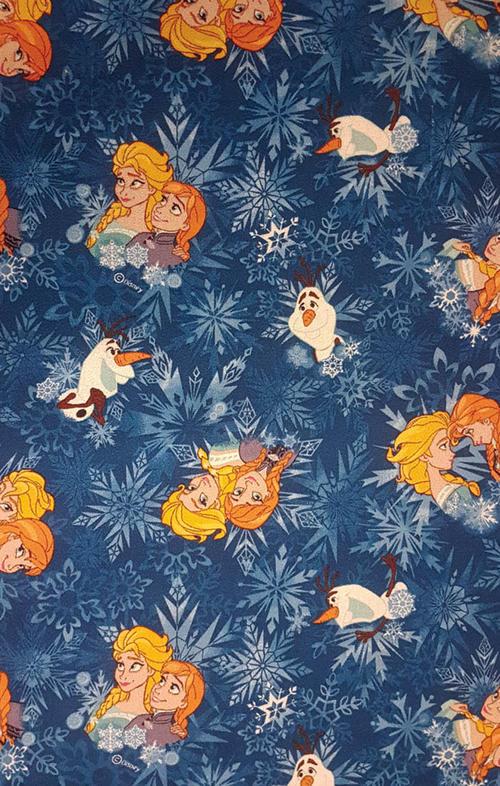 Мокетен килим Frozen, син (77)
