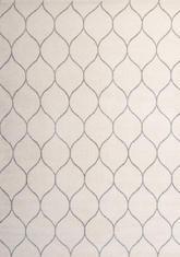 Килим Ambiance, бял (81255/white/silver)
