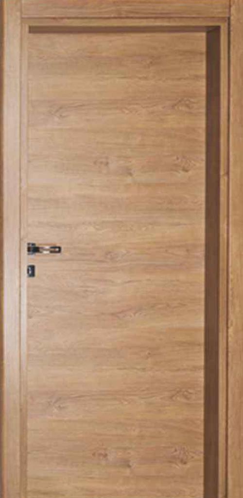 Интериорна врата индийски орех с регулируема каса 80 см. дясна