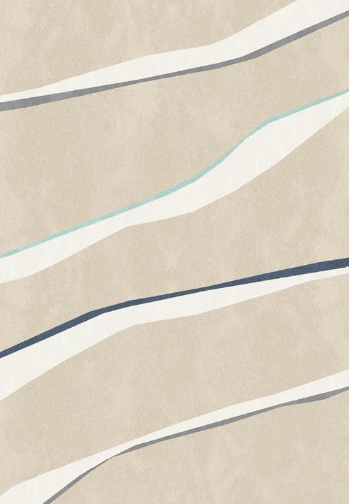 Килим Canvas Softset, бежов (18522/051)