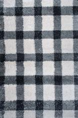 Килим Conga, черно-бял (65603/863)